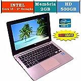 Notebook Asus X202e Intel Core i3 2gb 500gb hd (10033)