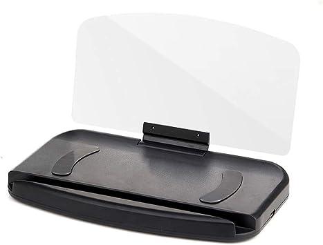 Afazfa£ Portavientos para teléfono móvil, proyector de Parabrisas ...