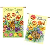 Cheap Bloom Rabbit 2-Sided Vertical Flag