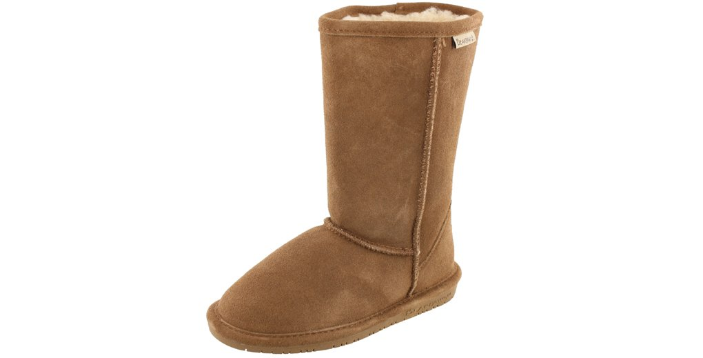 BEARPAW  Emma Tall Youth Boot,Hickory/Champagne,13 M US Little Kid