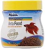 Aqueon Color Enhancing Betta Food, .95 Ounces