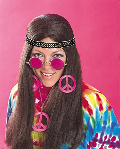 Rubie's Costume Feeling Groovy Female Hippy Accessory Kit, Multicolored, One Size