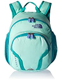 The North Face Youth Sprout Backpack - ice green/ion blue, one size