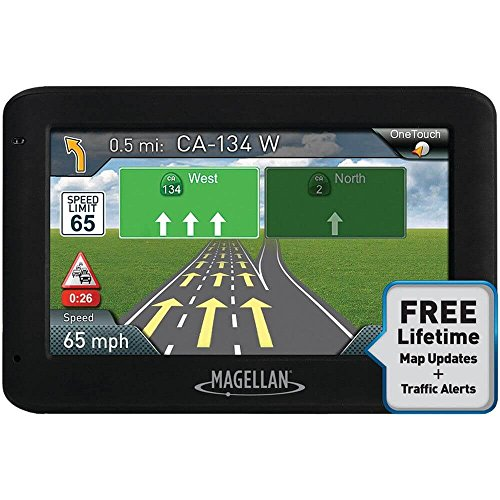 Magellan RoadMate 2535T-LM 4.3'' Touch Vehicle Car GPS w/Free North American Lifetime Maps (Certified Refurbished) by Magellan