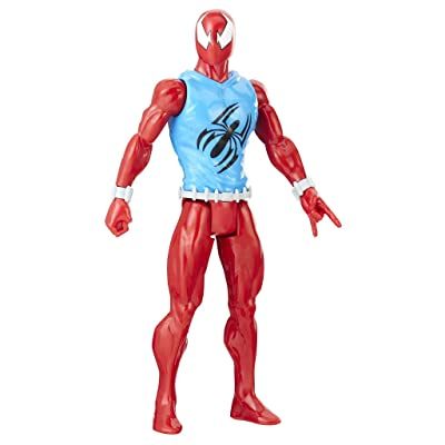 Spider-Man Titan Hero Series Web Warriors: Marvel's Scarlet Spider: Toys & Games