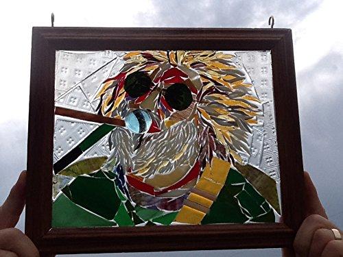 Jerry Garcia Art Window Art Sun Catcher Grateful Dead
