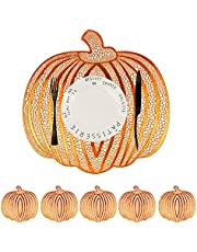 Place mats Set of 6, 15inch Place mats and PVC Home Decor for Halloween, Christmas,Thanksgiving,Wedding and Party (No-Slip)