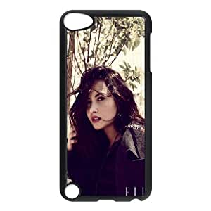 HXYHTY Customized Print Demi Lovato Pattern Hard Case for iPod Touch 5