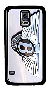 S5 Case, Galaxy S5 Case, Samsung Galaxy S5 Case - Hard PC Protective Bentley Car Logo 1 Case Black Cover Heavy Duty Protection Shock-Absorption / Impact Resistant Slim Case for Galaxy S5 / Galaxy SV / Galaxy S V / Galaxy i9600