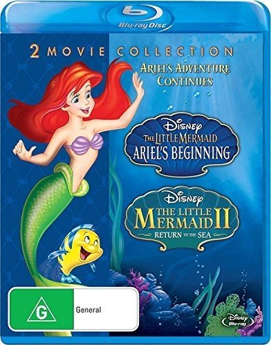 The Little Mermaid (Ariel's Beginning/Return to the Sea) [Blu-ray] (The Little Mermaid Two Return To The Sea)