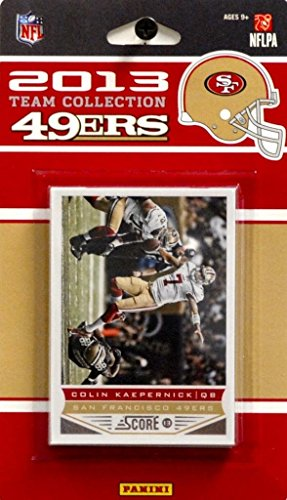 Panini 2013 Score NFL Team Set - San Francisco - 49ers Francisco Football San Card