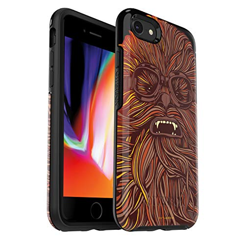 - OtterBox Symmetry Series Star Wars Case for iPhone 8 & iPhone 7 (NOT Plus) - Retail Packaging - Chewbacca