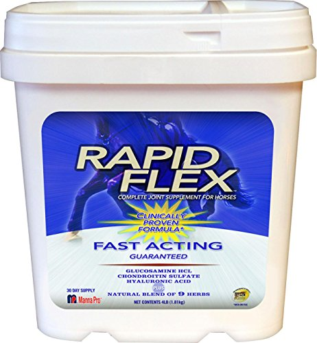 RAPID FLEX COMPLETE JOINT SUPPLEMENT FOR HORSES - 4 POUND by DavesPestDefense