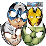Marvel Avengers Assemble 8 ct Party Masks, 2 Pack