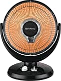 Homebasix DF1015 Oscillating Parabolic Heater, 400/800 W