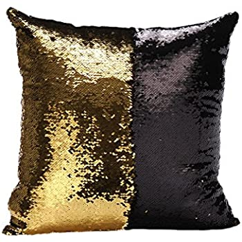 amazon com idea up reversible sequins mermaid pillow cases 4040cm