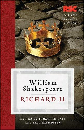 Amazon Richard Ii The Rsc Shakespeare Ebook William