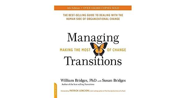 Amazon.com: Managing Transitions, 25th anniversary edition ...