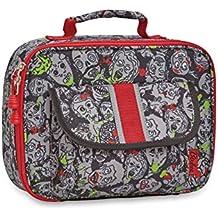 Bixbee Zombie Camo Lunchbox, Grey, One Size