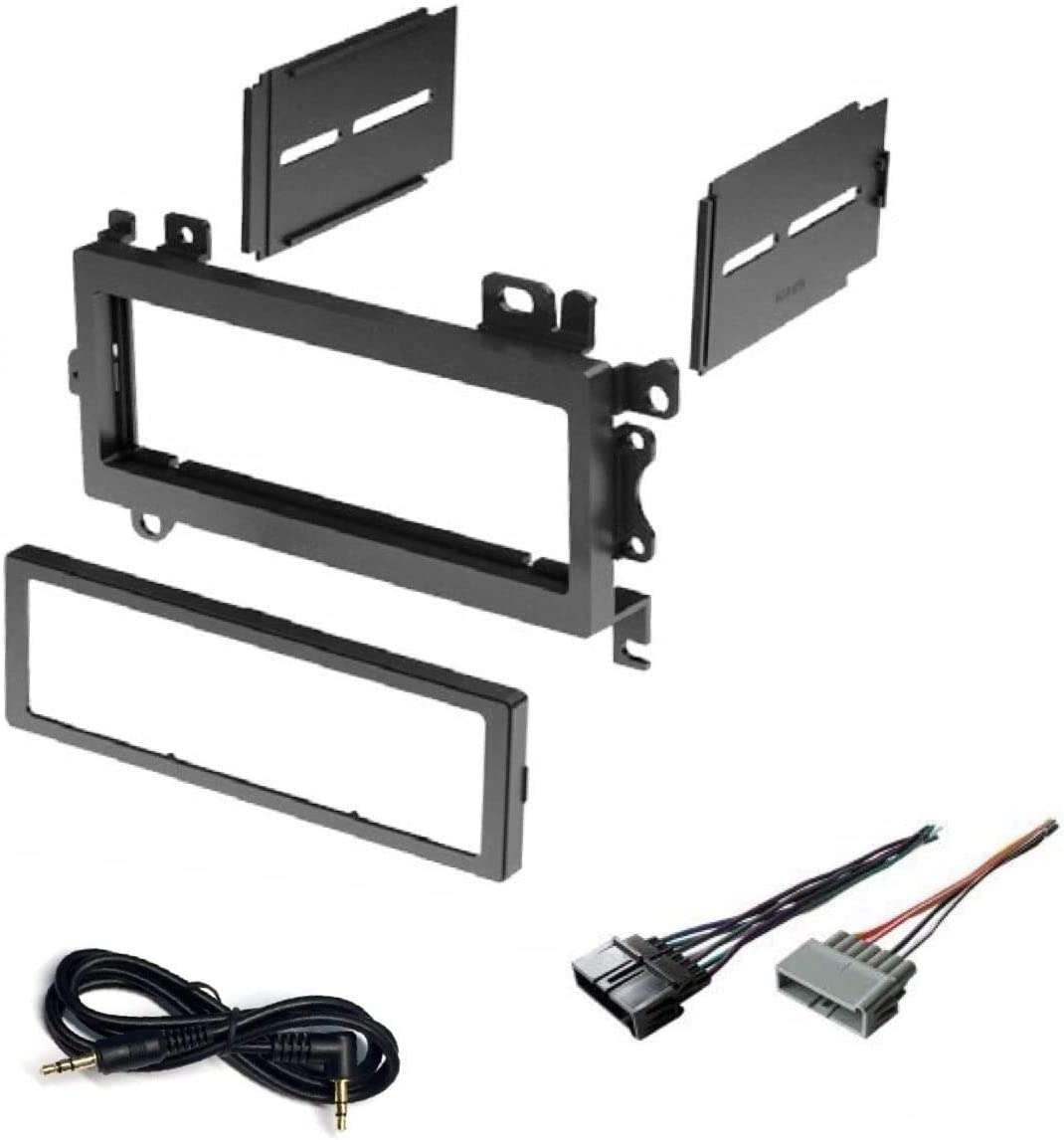 Amazon.com: Car Stereo Dash Kit and Wire Harness for Installing a New  Single Din Radio for 1997-2001 Jeep Cherokee, 1992-1998 Jeep Grand  Cherokee, 1997-2002 Jeep Wrangler: Car Electronics | 1998 Jeep Wrangler Wiring Harness |  | Amazon.com