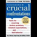 Crucial Confrontations Audiobook by Kerry Patterson, Joseph Grenny, Ron McMillan, Al Switzler Narrated by Barrett Whitener