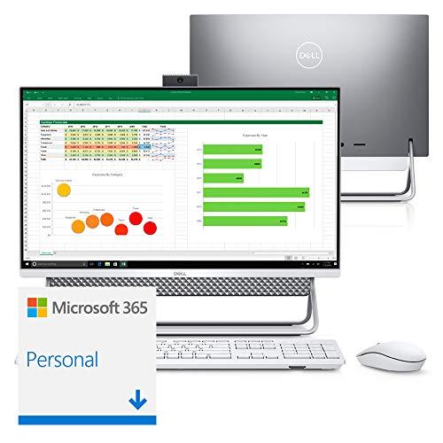 "Computador All in One Dell Inspiron 5490-MS20SF 10ª Intel Core i5 8GB 256GB SSD Placa Vídeo 23.8"" Windows Microsoft 365"