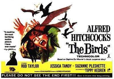 Amazon.com: The Birds - 1963 - Movie Poster: Posters & Prints