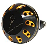 GOMEXUS Power Knob For Daiwa BG 4500 5000 6500 8000 Penn Battle II 6000-8000 Spinfisher SSV 6500 10500 Avet Zeebaas Reel Handle Drill Fitment 47mm Review