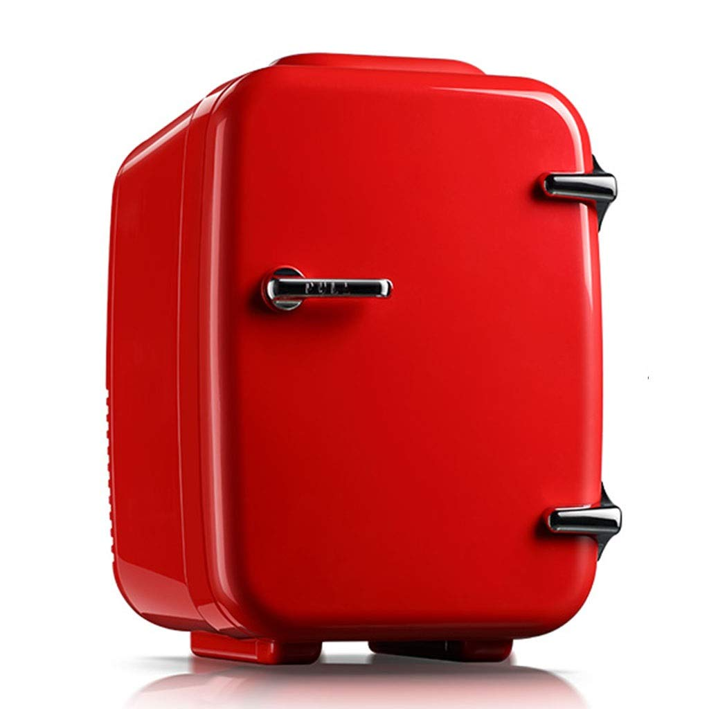Refrigerator SHPING 4L Car Portable Portable Hot and Cold Dual-use Low Power Mute Incubator Red by Refrigerator