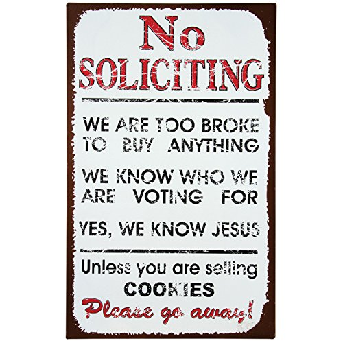 Ohio Wholesale No Soliciting Sign