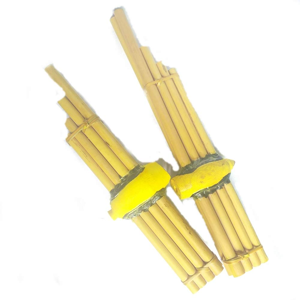 Cozinest 2 Mini Thai Khaen Instrument Bamboo Isan Mouthorgan Folk Musical Kids Home Decor by Cozinest