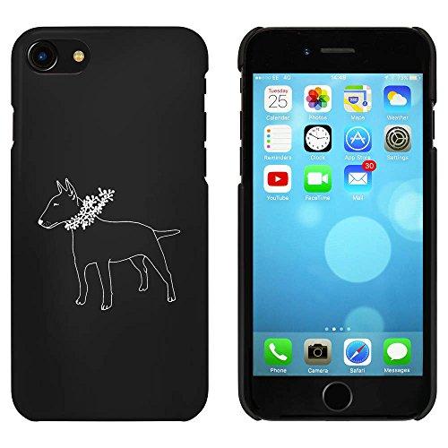 Noir 'Bull Terrier' étui / housse pour iPhone 7 (MC00060471)