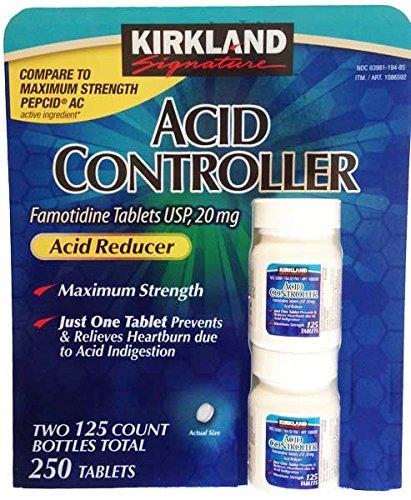 Kirkland Signature Acid Controller (250 Tablets) (Ac Maximum Pepcid Strength)