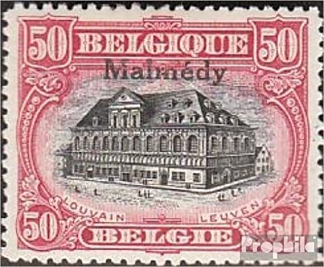 Prophila Collection Bélgica Correos Malmédy 10C 1920 Albert I ...