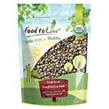 Organic French Green Lentils by Food to Live (Whole Dry Beans, Non-GMO, Kosher, Raw, Sproutable, Bulk) (3 pounds)