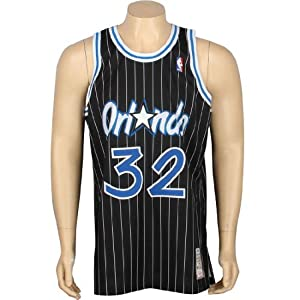 6ee5c78ed Amazon.com   Shaquille O Neal Magic 94 95 Mitchell   Ness Jersey ...
