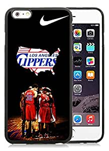 100% Brand New with High Quality Custom Design L.A. Clippers 4 Black Case For iPhone 6 Plus TPU 5.5 inch