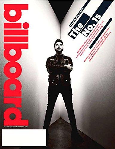 Billboard Magazine December 17-24, 2016 THE WEEKND, Gucci Mane, Lukas Graham