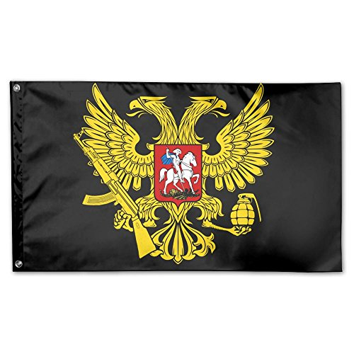 MoningV Russia's Coat Of Arms Decorative Flag House Flag Yar