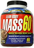 Labrada Nutrition Lean Body Mass 60 Muscle Building Weight Gainer, Chocolate Ice Cream Flavor, 6-Pound Tub