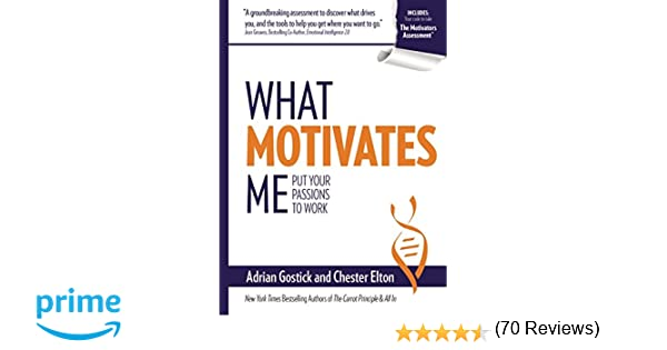 What Motivates Me: Put Your Passions to Work: Adrian Gostick ...