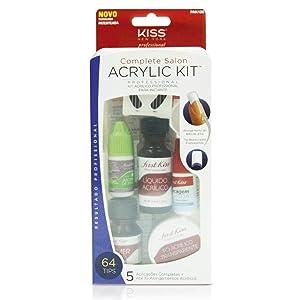 Kiss Products Complete Salon Acrylic Kit, 0.57 Pound