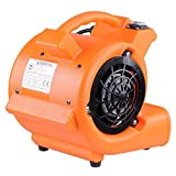 AMPERSAND SHOPS 1/12 HP Professional Portable Carpet Floor Dryer 349 CFM