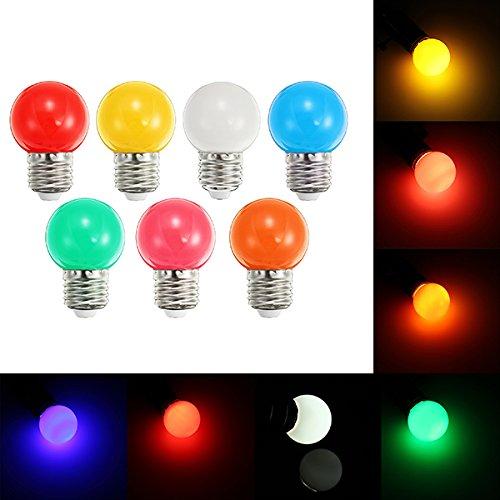 Coloured Led Light Globes in US - 2
