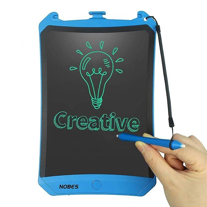 NOBES Tableta de Escritura LCD 8.5 Inch, LCD Tablero de Dibujo Gráfica, Pizarra Magica para niños diseño, Juguetes Educativo, Mensaje Doodle Pad Electrónico ...
