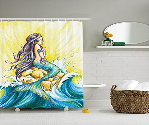 colored shower liners - 1