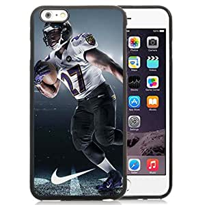 American Football Player Ray Rice Number-27 03 Black Abstract iPhone 6S plus 5.5 Inch TPU Phone Case