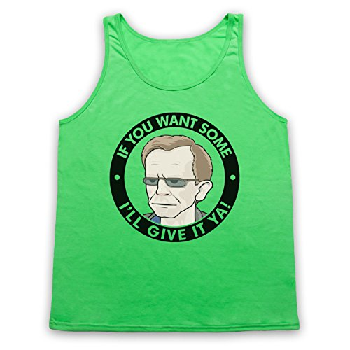 Wealdstone Raider You Want Some I'll Give It Ya Tank-Top Weste, Neon Grun, Large