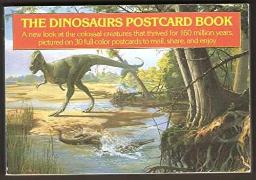 Dinosaurs Postcard Book