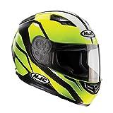 C5SFM - HJC CS-15 Sebka Motorcycle Helmet M Fluo (MC4H)